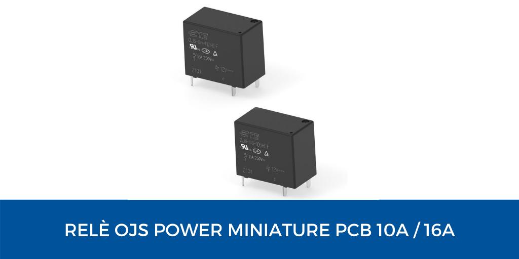 Rele OJS power PCB relays