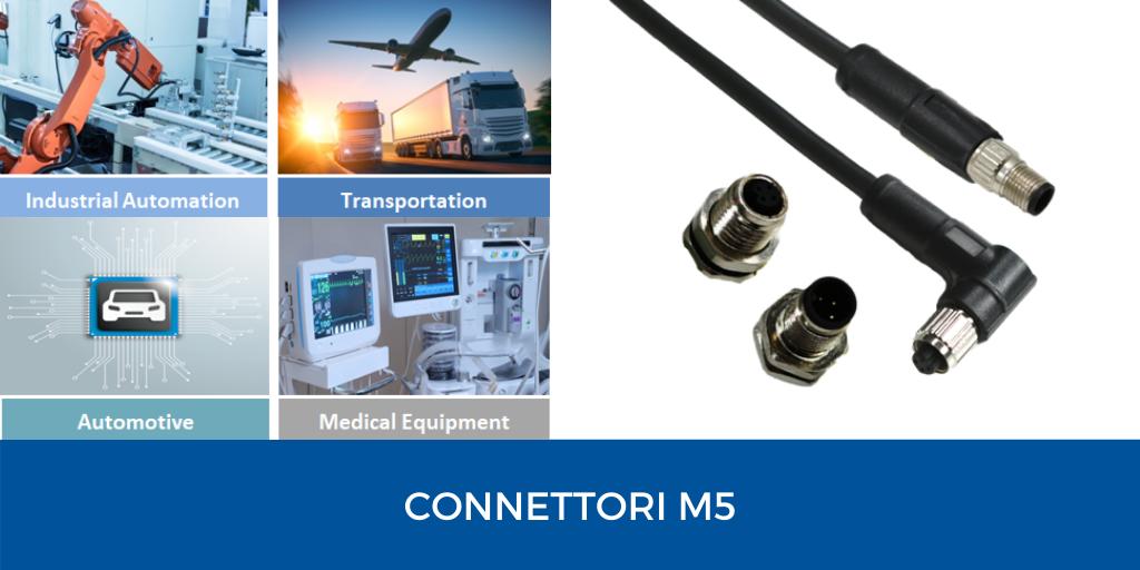 connettori m5
