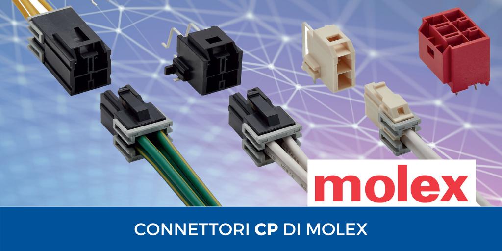 connettori CP Molex